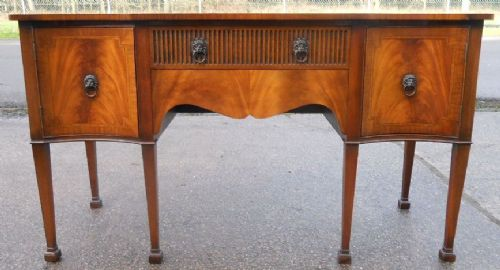 Georgian Style Mahogany Sideboard by Rackstraw
